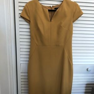 Banana Republic mustard Dress